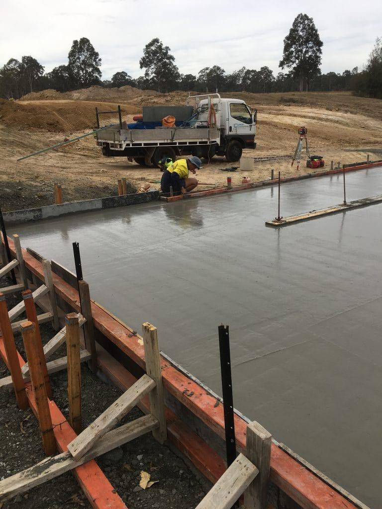 Concrete Pump Slab »
