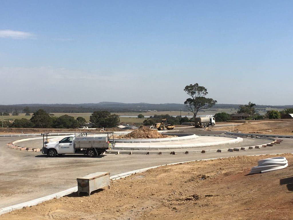 Roundabout Construction »