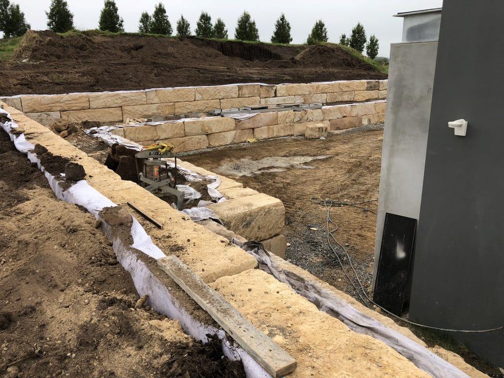 Sandstone Retaining Wall »