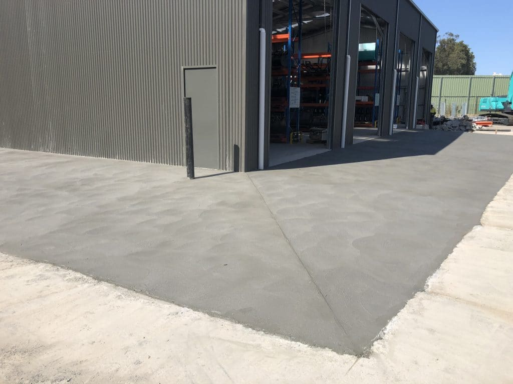 Industrial Slab and Shed -