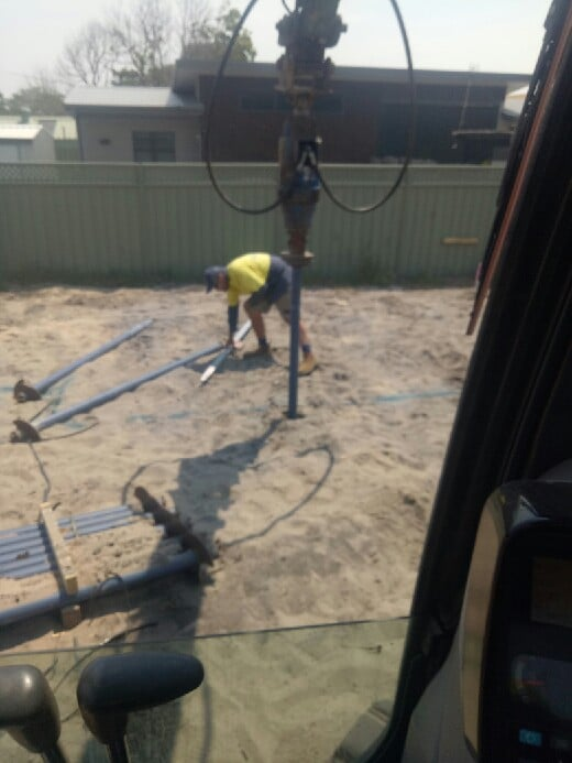 Screw Piles for House -